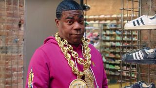 tracy morgan sneaker shopping