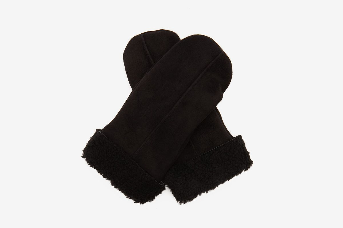 Inverness Shearling Mittens