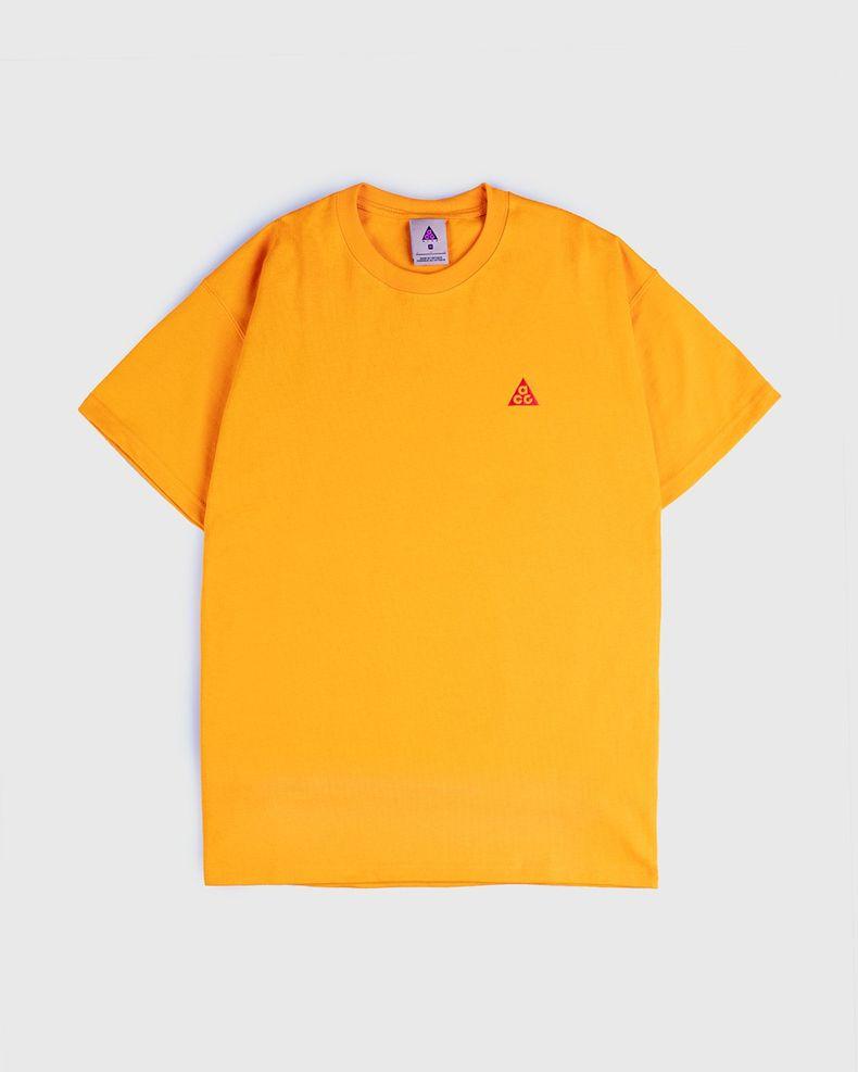 Nike ACG — M NRG ACG SS Embr Tee Orange