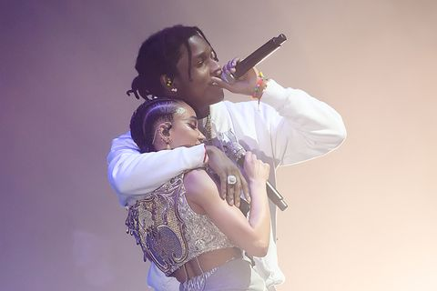 FKA Twigs Performs With A$AP Rocky, Debuts New Music on 'Magdalene Tour'