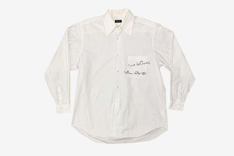 AW87 Handwritten Oversized Shirt