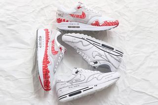 air max 1 sketch to shelf white white nike