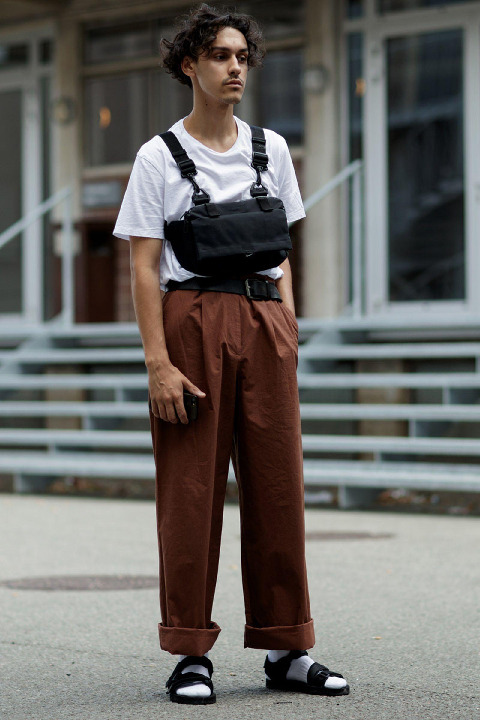 copenhagen street style bags7 Copenhagen Fashion Week Nike Supreme