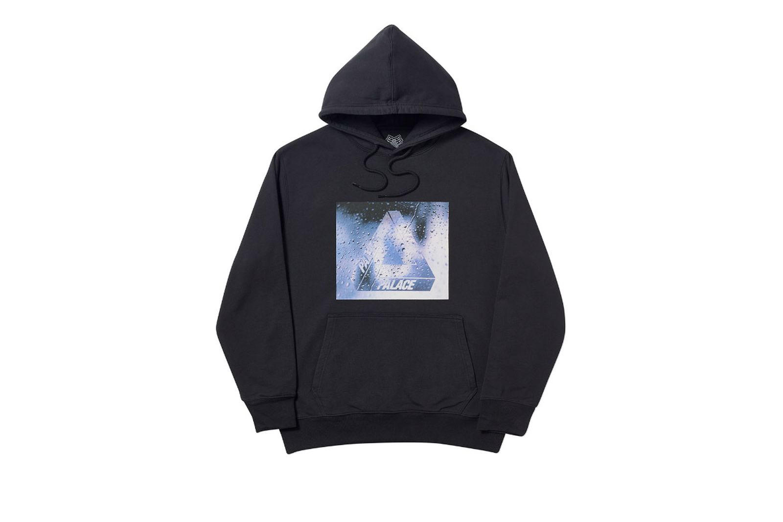 Palace 2019 Autumn Hoodie Window Licker black front 14671 adjusted