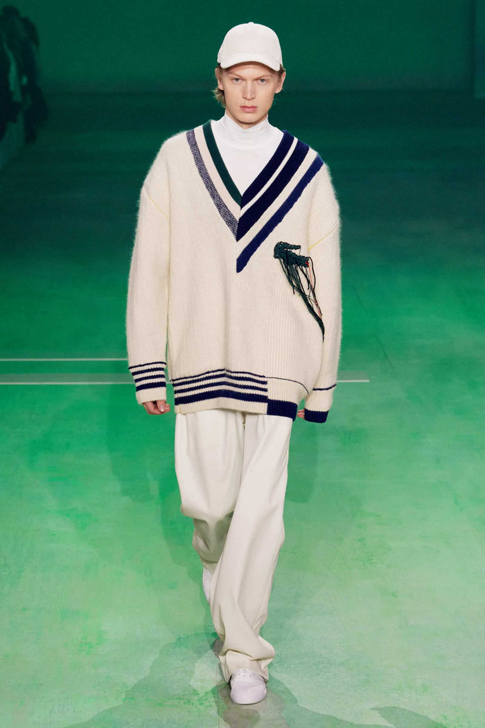29lascoste fw19 paris fashion week Louise Trotter lacoste runway