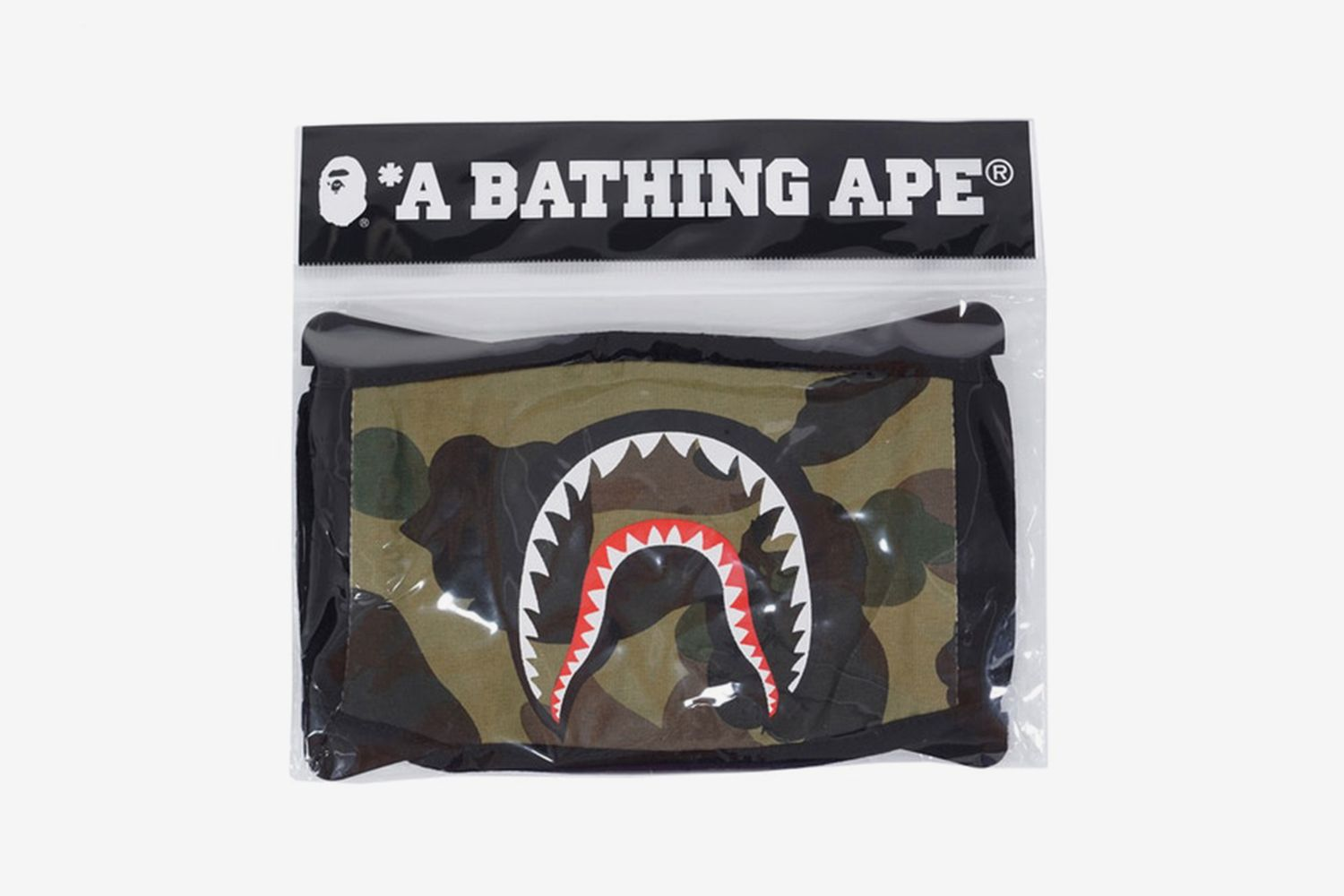 1st Camo Shark Face Mask