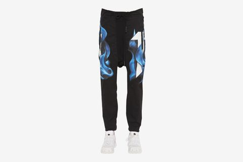Printed Jersey Pants