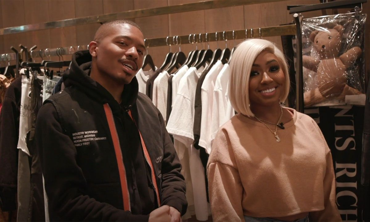 Yung Miami Shows Us How to Shop for Her Man at Patron of the New