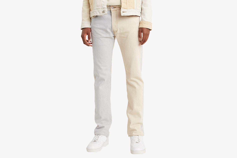 Men's Two-Tone 501 Jeans