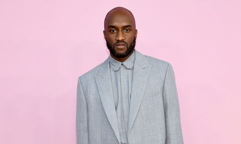 Virgil Abloh Gray Suit