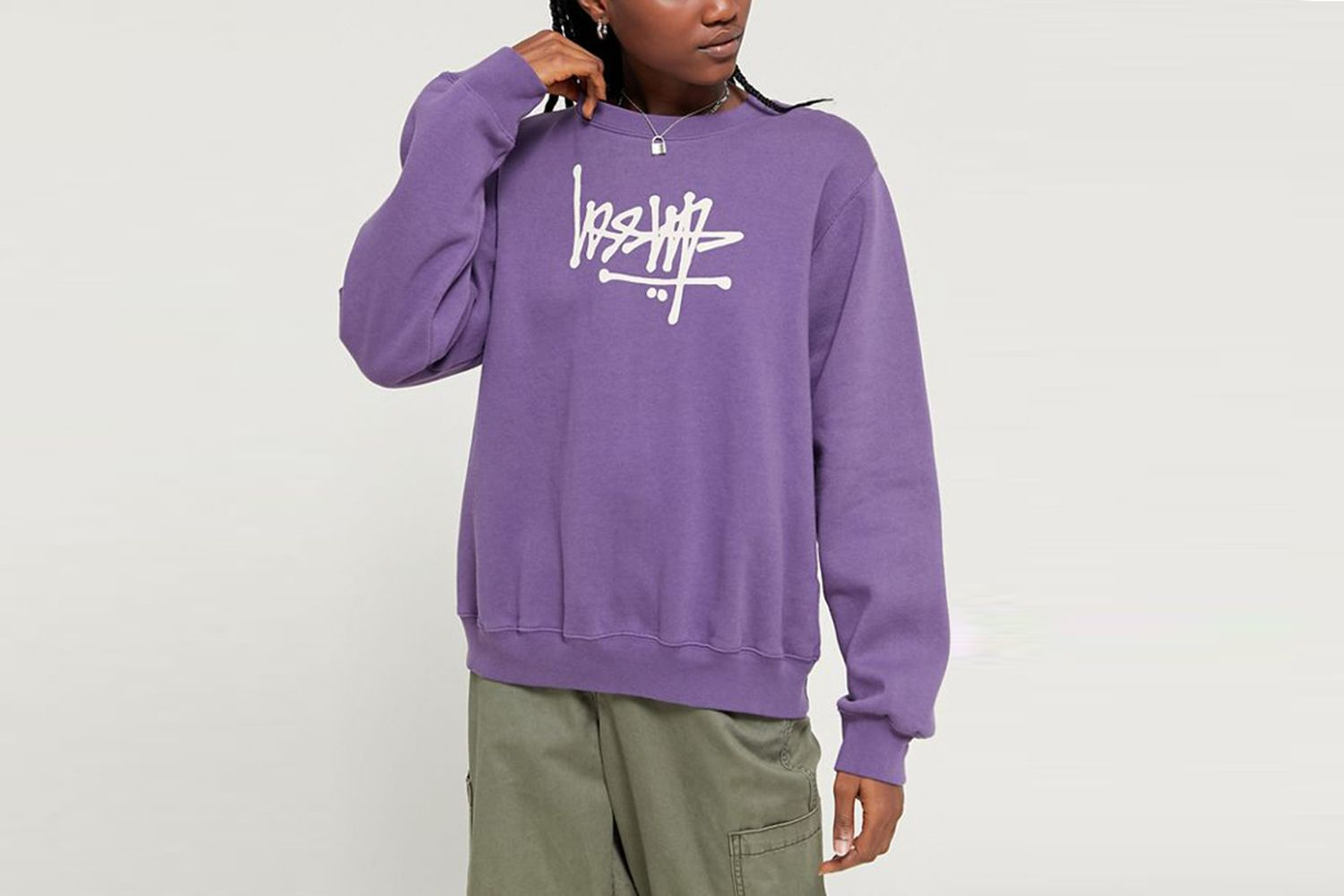 Flip Fleece Crew Neck Sweatshirt