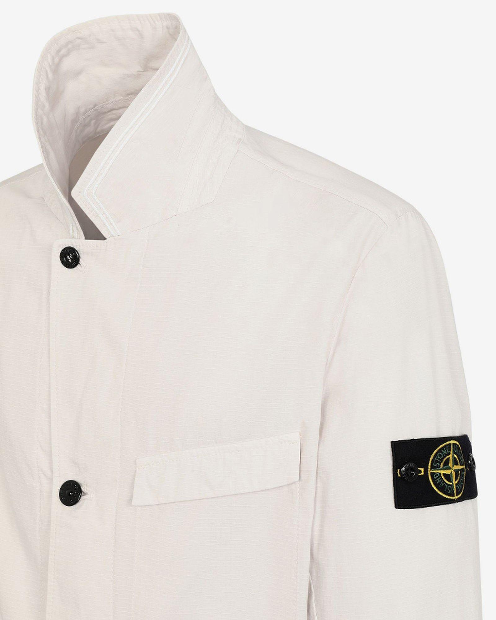 2stone island structured cotton blazer