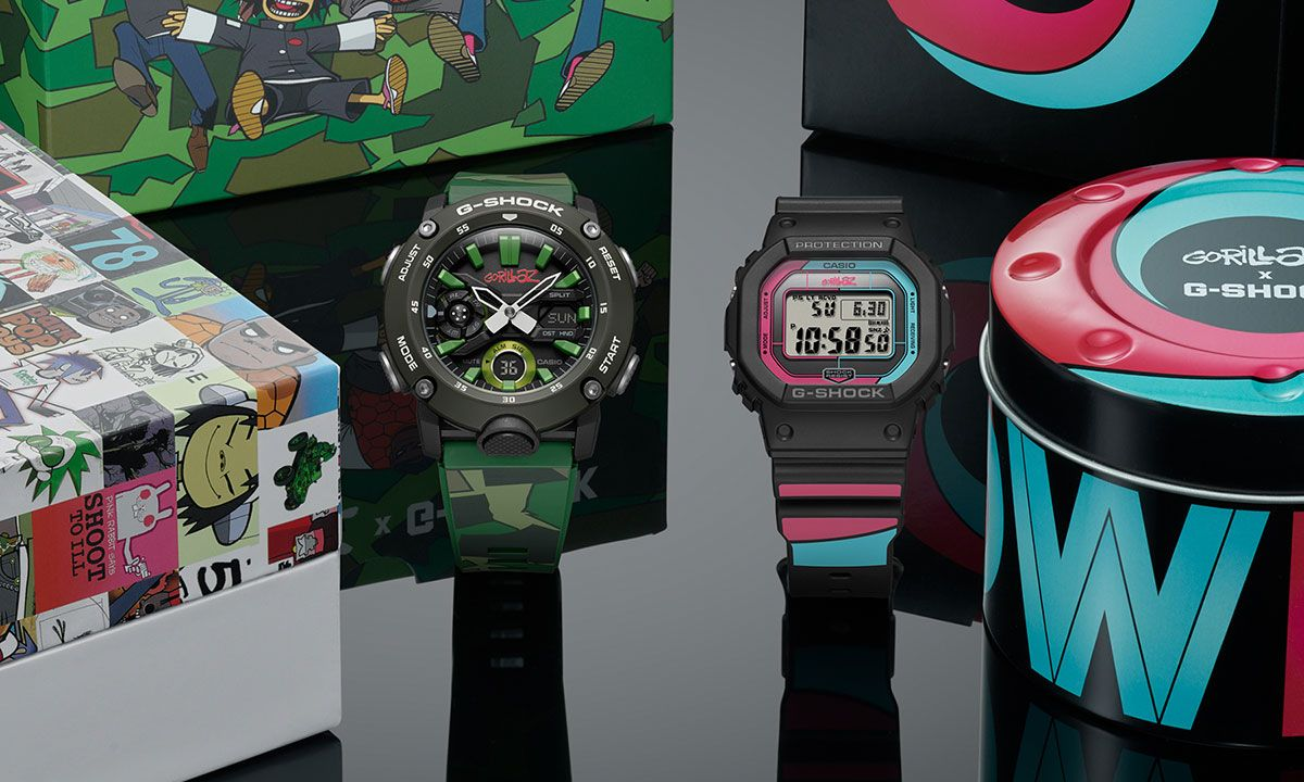 Gorillaz Team Up With G-SHOCK For the Second Time on Another Colorful Collab