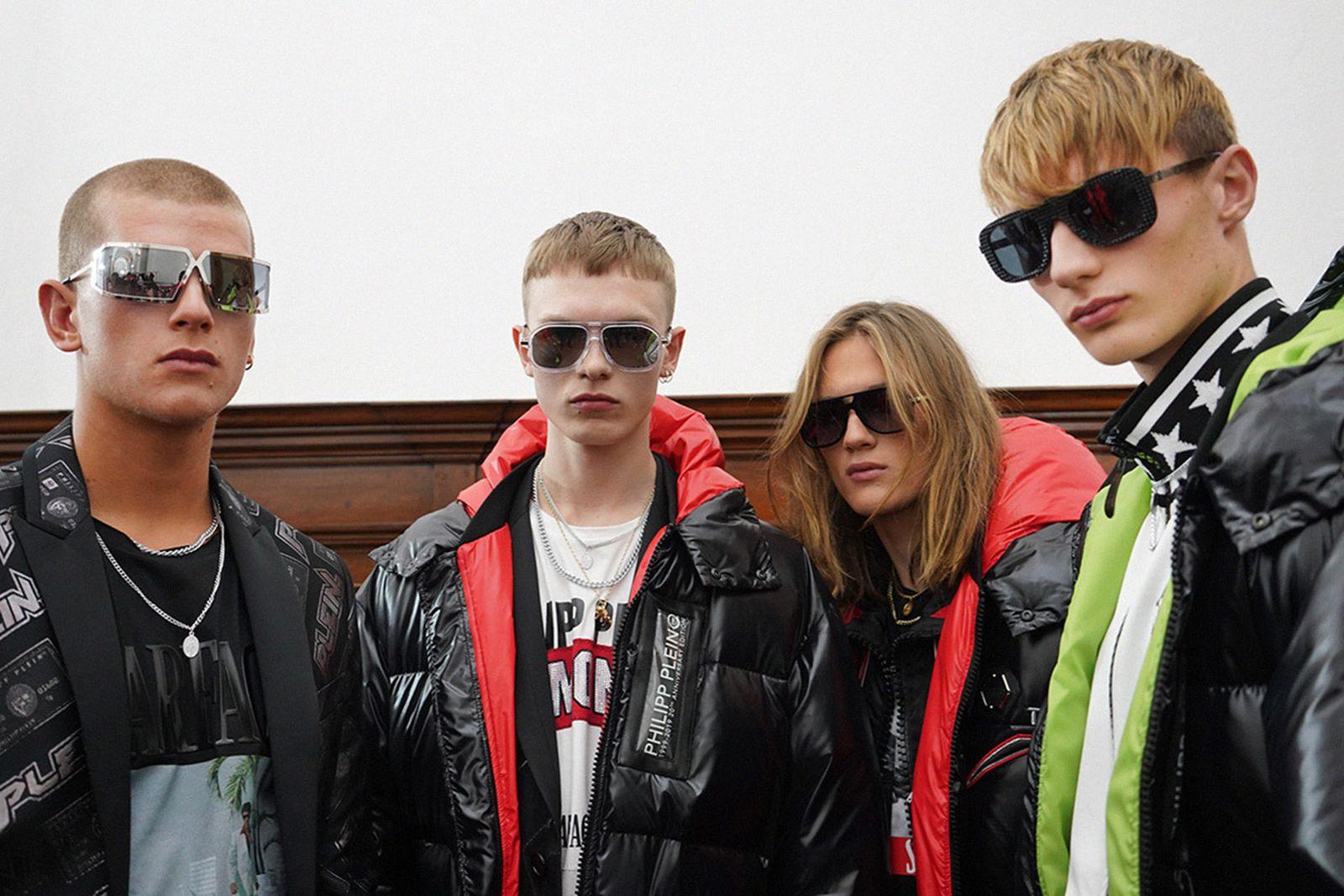 bad taste fashion late capitalism main Enfants Riche Deprimes amiri philipp plein