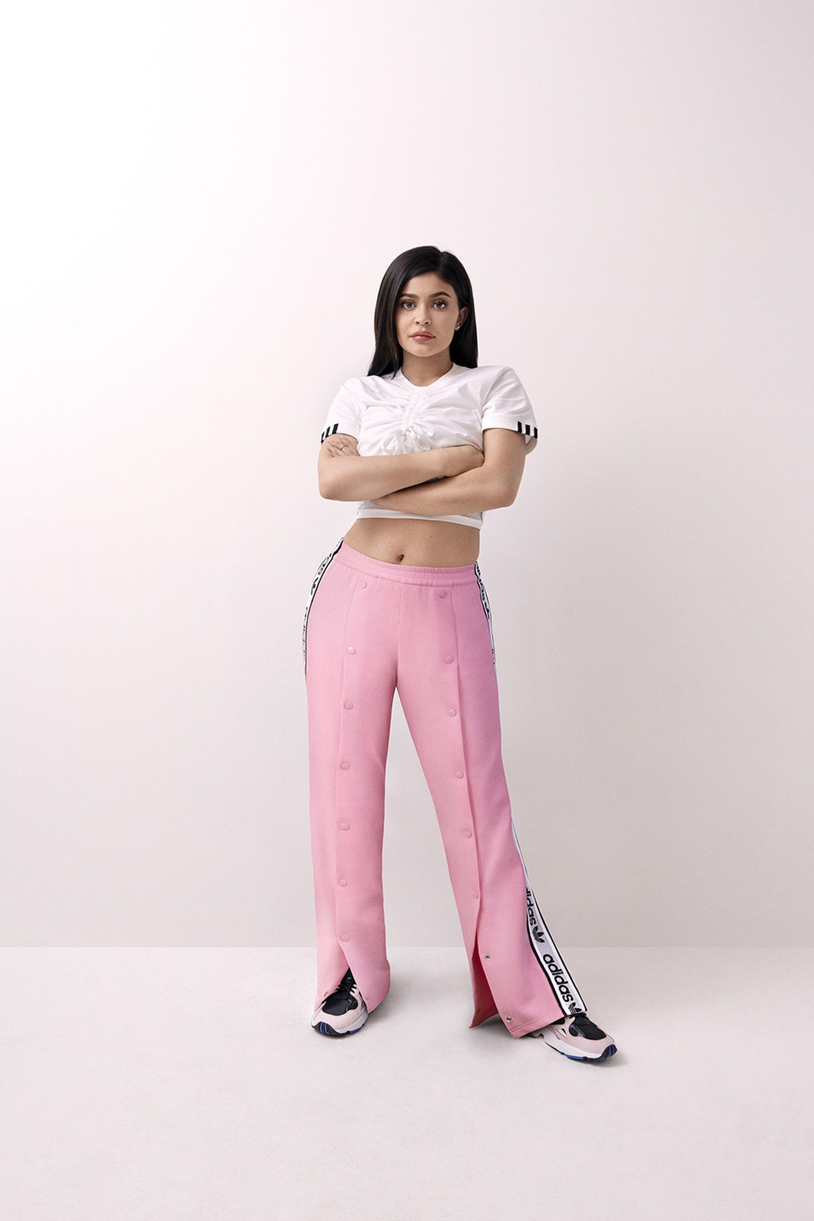 kylie jenner adidas originals falcon fw18 campaign