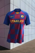 buy online df8fe 40f99 FC Barcelona's 2019-20 Home Kit Is an Ode to Eixample District