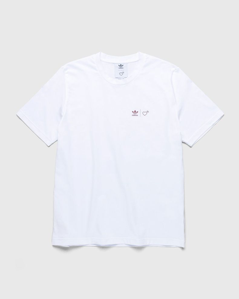 adidas Originals x Human Made — Graphic Tee White