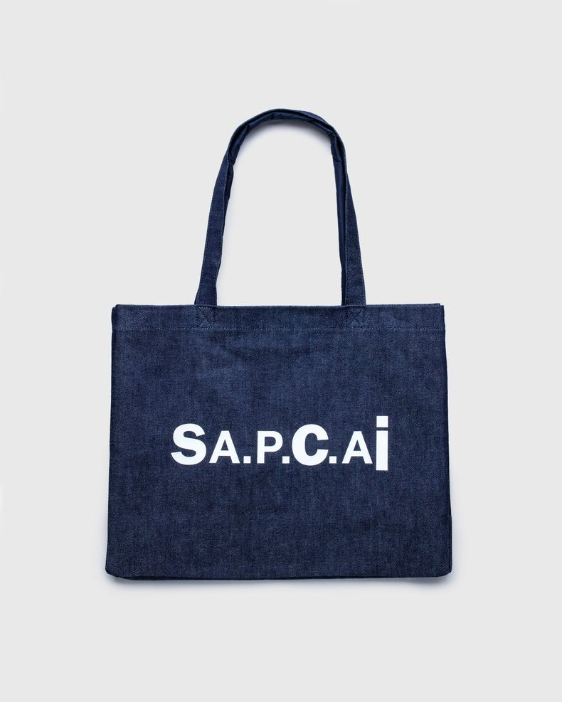 A.P.C. x Sacai — Shopping Bag Candy Dark Navy