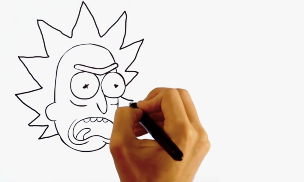 Rick And Morty Drawing Tutorial Watch It Here