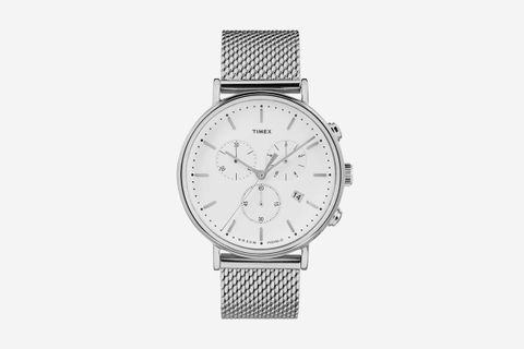 40mm Mesh Strap Watch