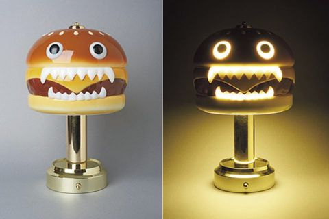 undercover hamburger lamp fw18 medicom toy