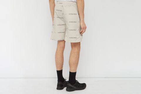 Logo-Print Technical Shorts