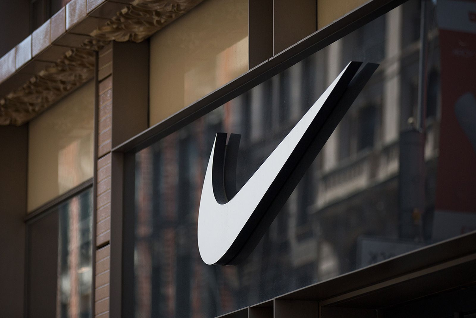 Nike Swoosh sign