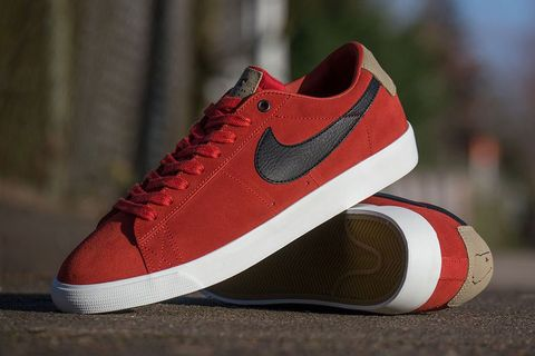 """super popular d4ffa 485a1 In a continuing effort of its """"Support Your Local"""" campaign, Nike SB endows  team rider Grant Taylor with an emblematic version of the Blazer Low. The GT  """" ..."""