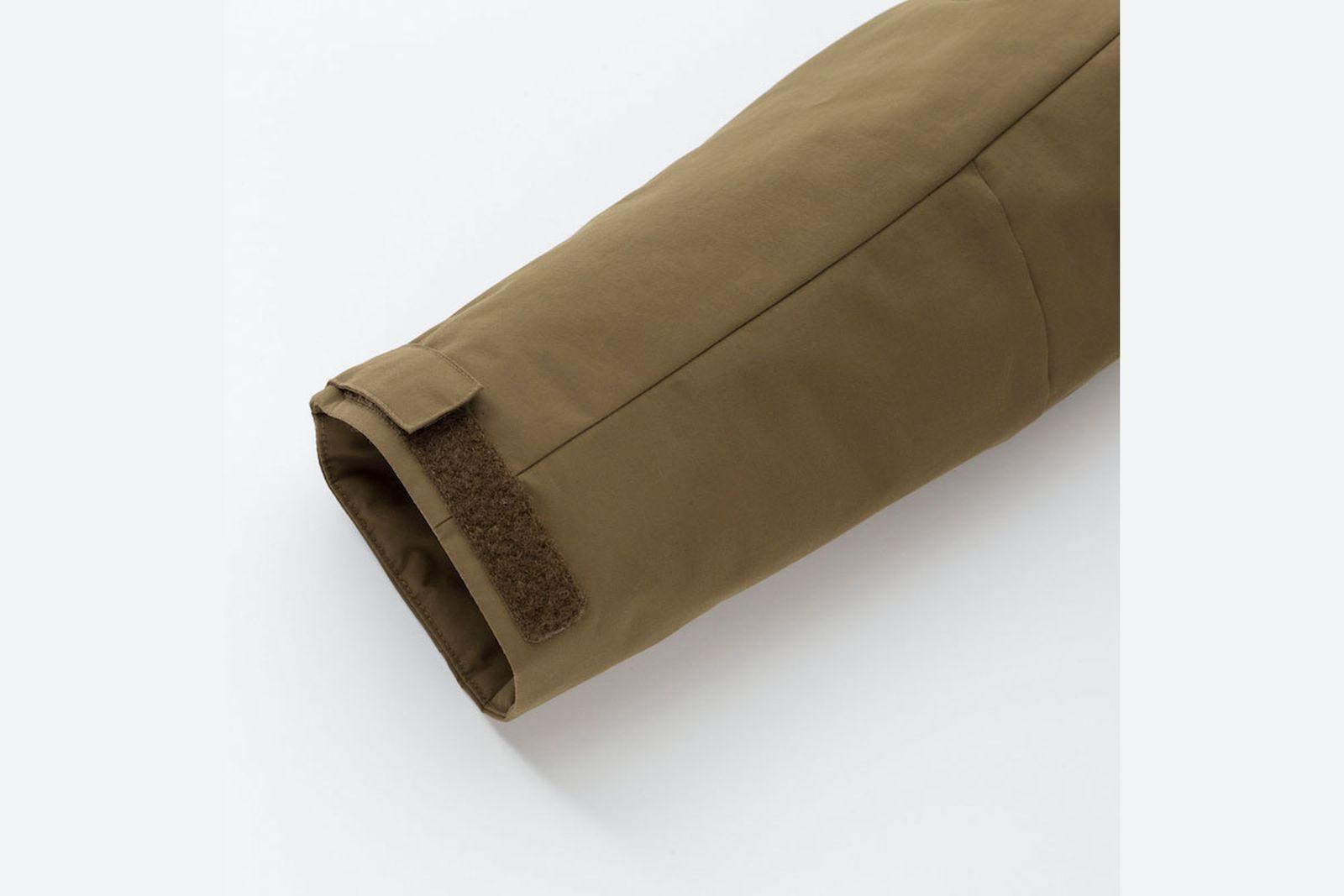 uniqlos hybrid down jackets