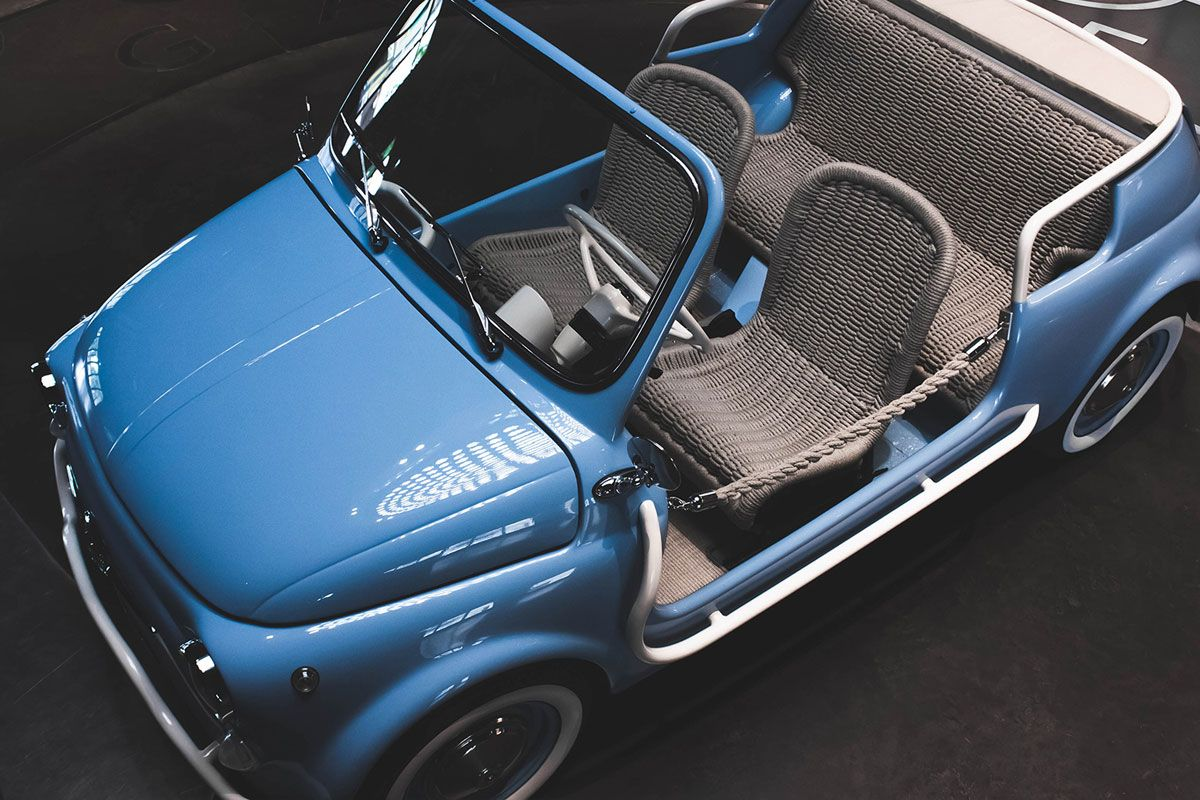 Garage Italia's E-Icon Project Makes Electric Cars Out of Collectible Vintage Autos