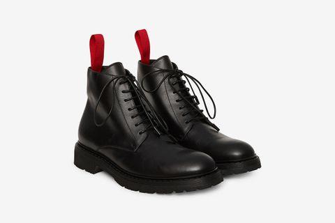 High Top Boots Black