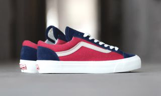 """Vans Vault Releases the OG Style 36 LX """"Peacoat/Cranberry"""""""
