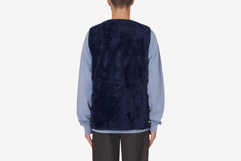 Fuzz Fleece Vest