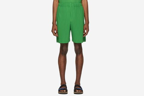 Issey Miyake's Homme Plissé Trousers & Shorts Are Here to Save Your Spring