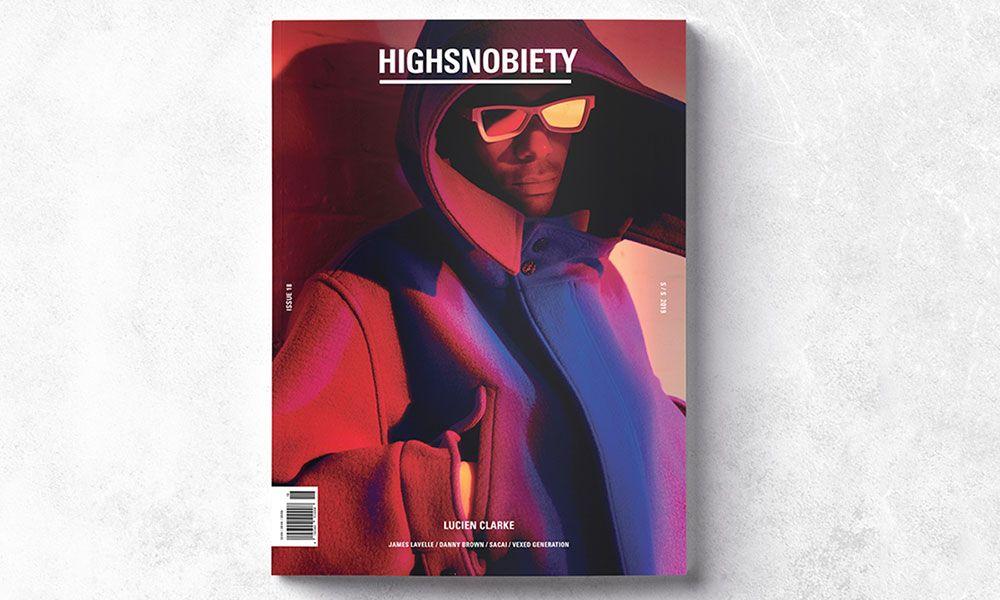 Fashion magazine Highsnobiety 15 with Future. Also