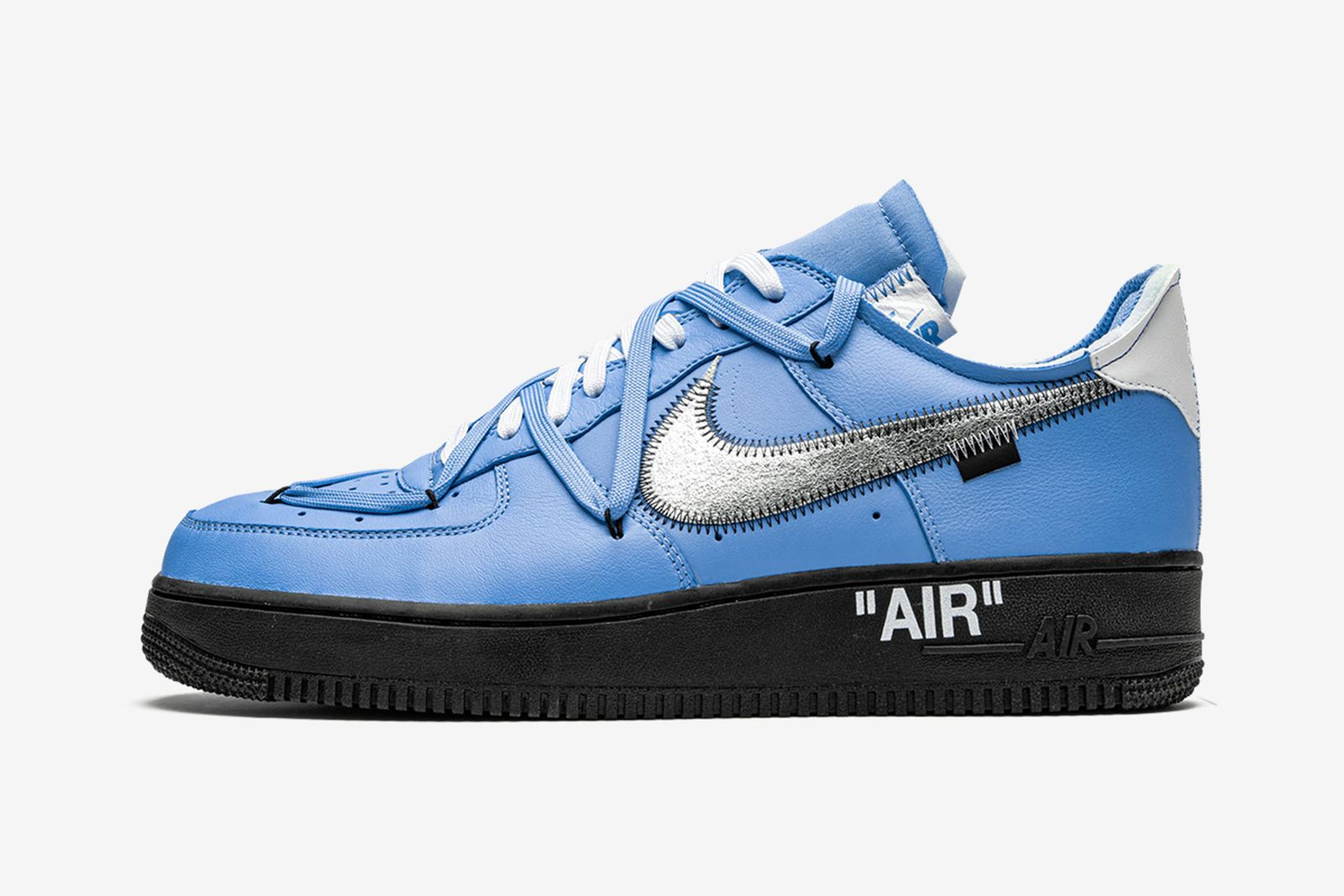 off-white x nike air force 1 mca sample blue