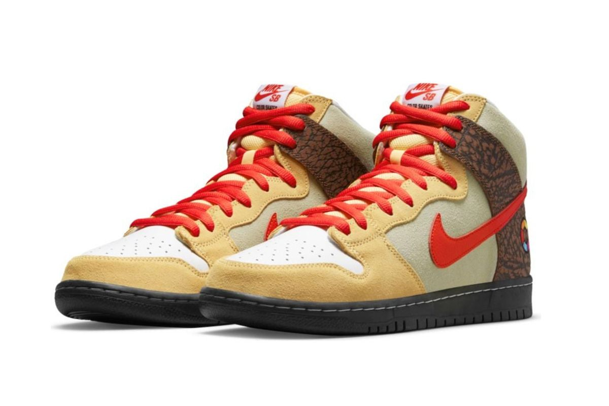 Color Skates & Nike SB Have Us Drooling For Their Upcoming Dunk High 3
