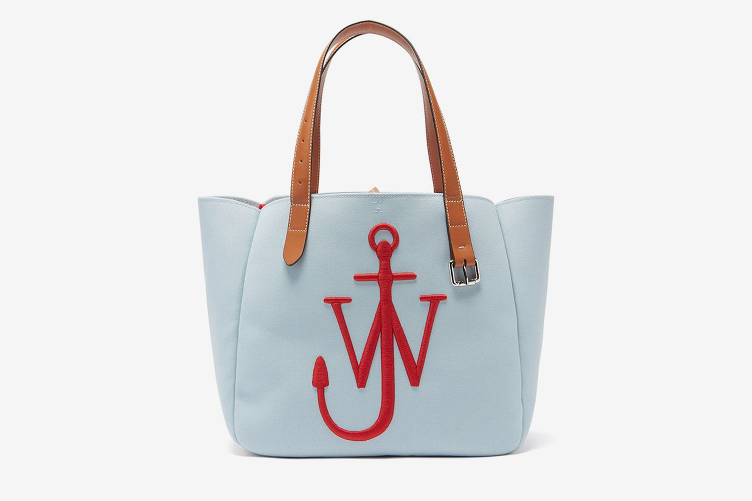 Belt Embroidered-anchor Canvas Tote Bag