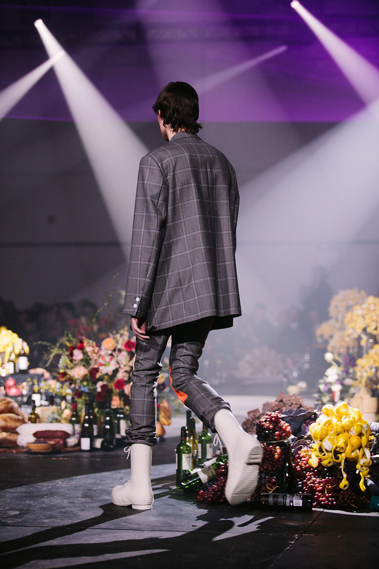 Raf Simons Fall Winter 2018 Highsnobiety menswear new york fashion week runway