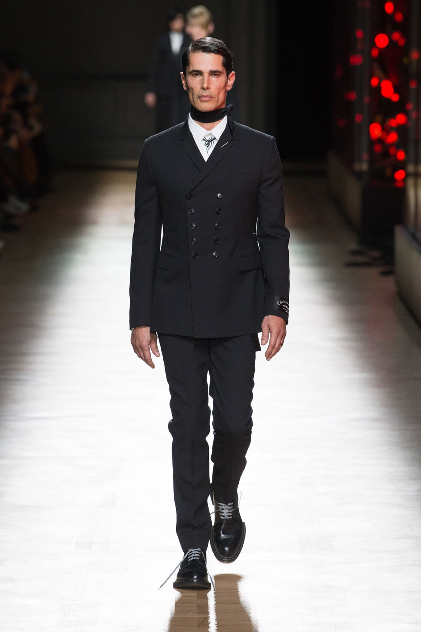 DIOR HOMME WINTER 18 19 BY PATRICE STABLE look01 Fall/WInter 2018 runway