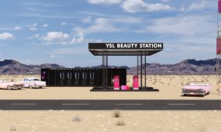 YSL Announces Gas Station Pop-Up in Palm Springs