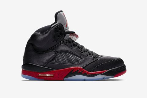 "2976f9c8 Here's What Resellers are Shifting the New Satin Air Jordan 5 ""Bred"" For"