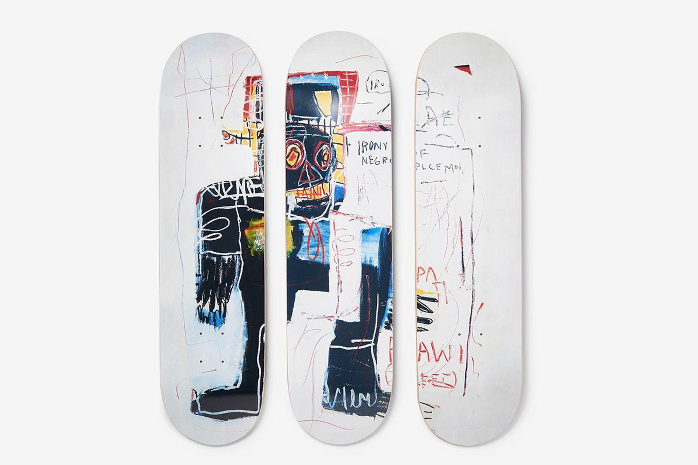Jean-Michel Basquiat Skateboards Set