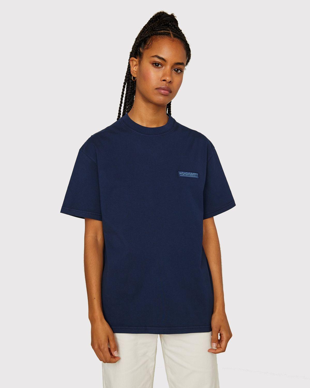 Highsnobiety Staples - T-Shirt Navy - Image 6