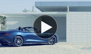 Aston Martin presents the Vanquish Volante