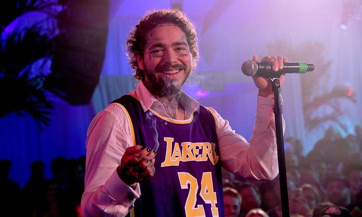 Post Malone Kobe Bryant Lakers Jersey