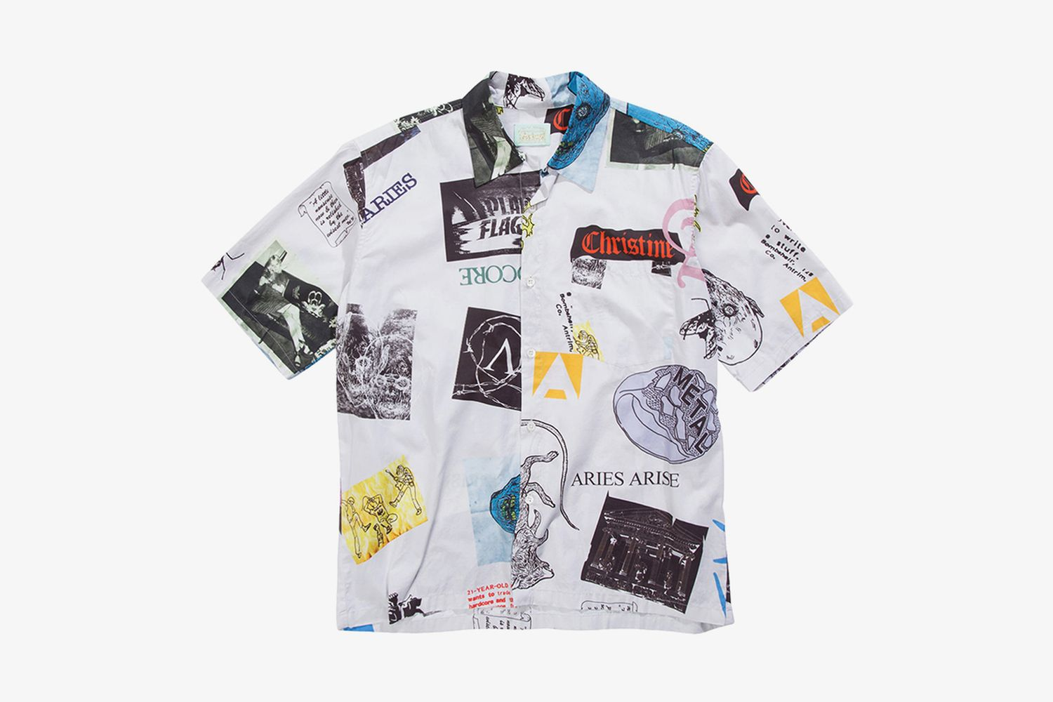Thrasher Button-Up Camp Shirt