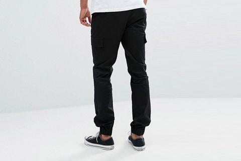 Skinny Woven Cargo Pants