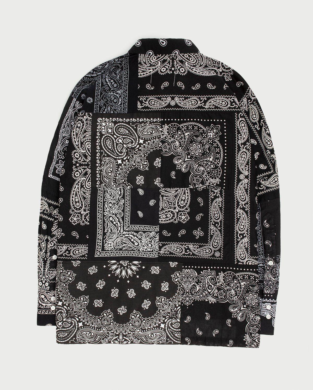 Miyagihidetaka Bandana Shirt Black - Image 8