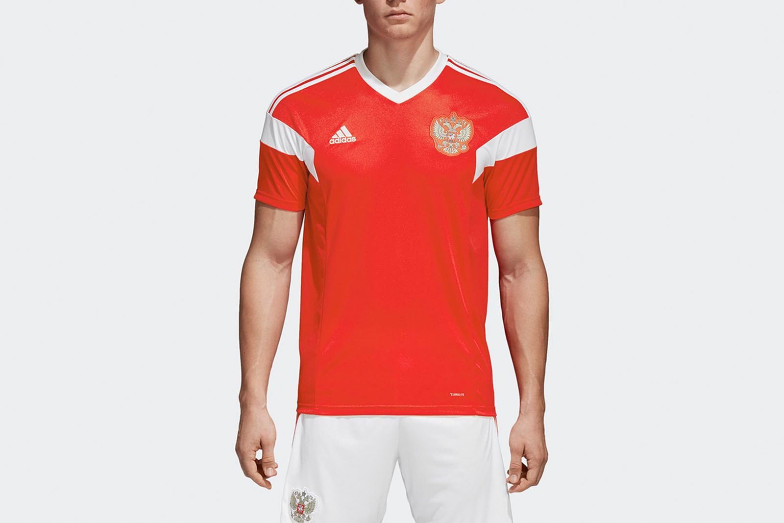 Russia Home Jersey Red BR9055 21 model 2018 FIFA World Cup Adidas